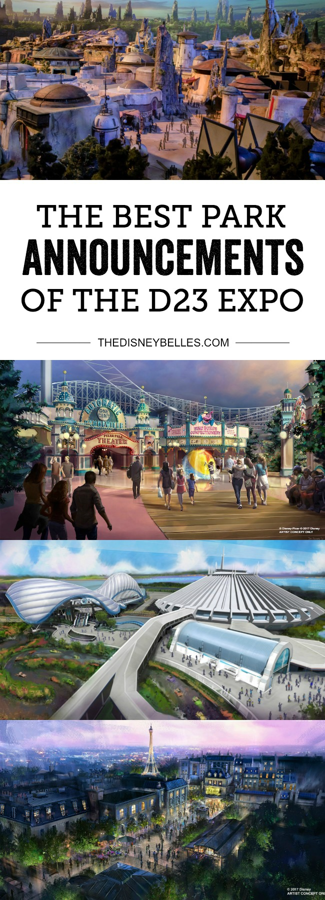 Here are the biggest and best Disney Parks and Cruise Line announcements that were revealed at this years D23 Expo.