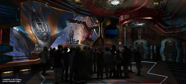 Brand-new E-ticket attraction based on the rockin' and action-packed world of Guardians of the Galaxy