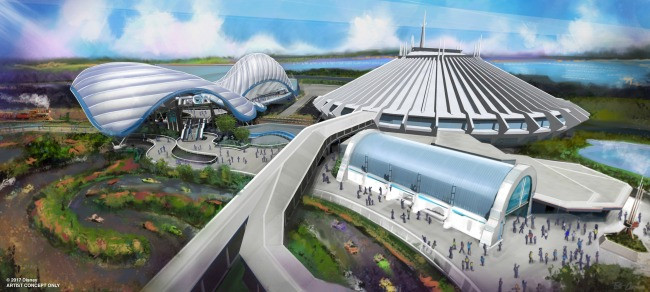 D23 Expo New Tron-Themed Attraction