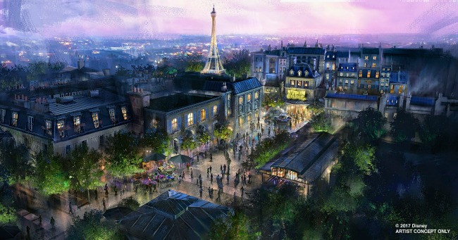 D23 Expo Ratatouille Attraction