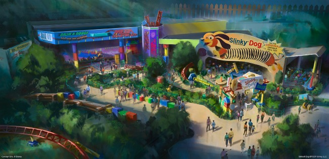 D23 Expo Summer 2018 Opening of Toy Story Land