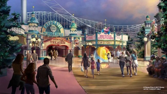 Pixar Pier, coming to Disney California Adventure park in 2018