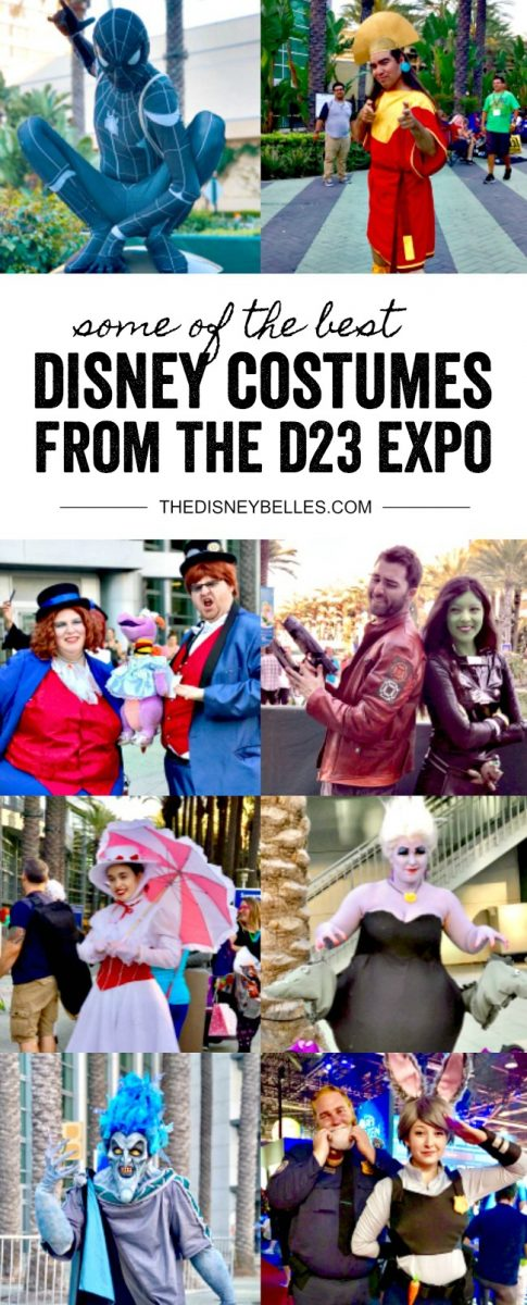 Best Disney Costumes at D23 Expo
