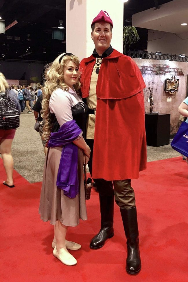 Sleeping Beauty and Prince Phillip | Best Disney Costumes from the D23 EXPO