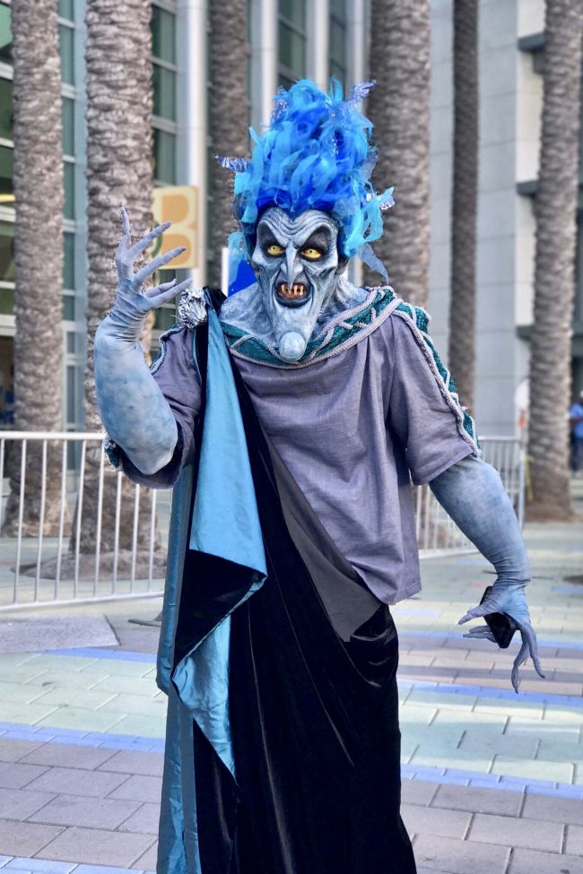 Hades from Hercules | Best Disney Costumes from the D23 EXPO