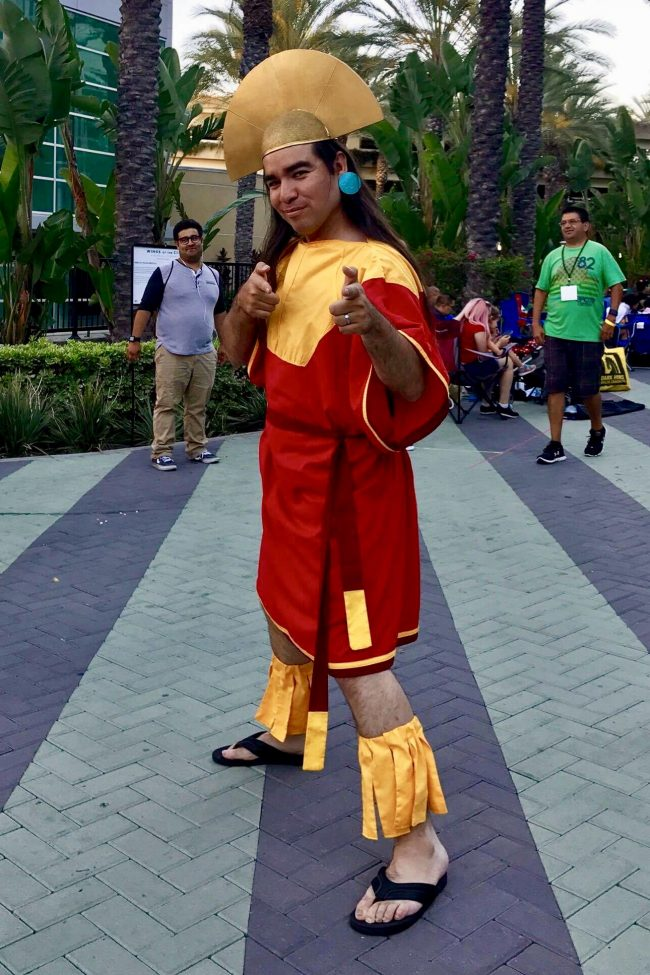 Emperor Kuzco from Emperor's New Groove | Best Disney Costumes from the D23 EXPO