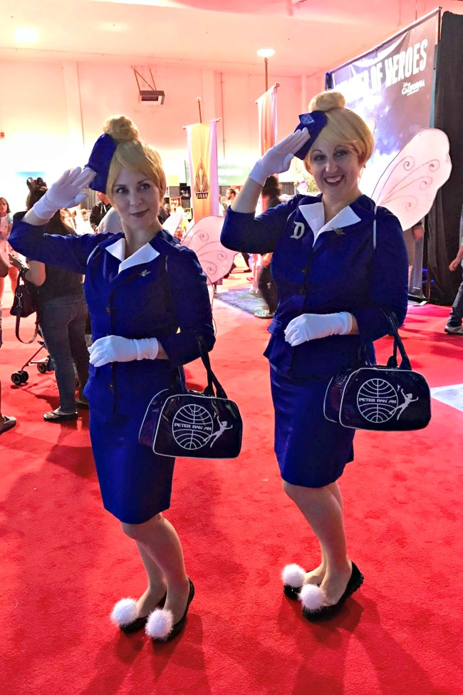 Fairy Flight Attendants | Best Disney Costumes from the D23 EXPO