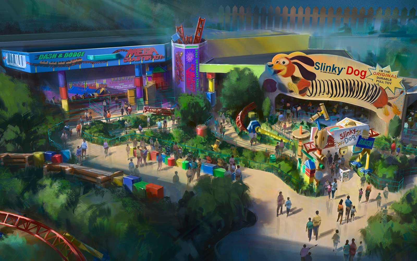 New Pixar Announcements for Disney Parks! #D23 #PixarPier #Disney