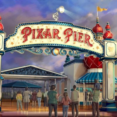 New Pixar Announcements for Disney Parks!