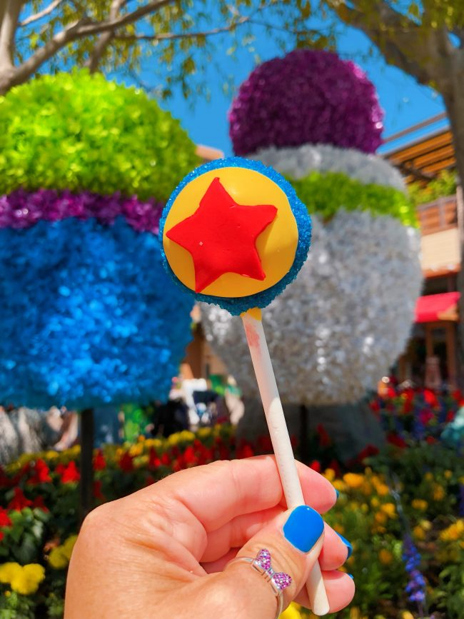 Pixar Cake Pops. Various Locations, Disneyland Resort | Top 15 Disneyland Pixar Fest Foods #Disneyland #PixarFest