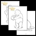 Disney's Christopher Robin Coloring Pages